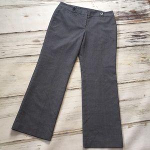 Ann Taylor Trouser Pants Blue White Signature 8P